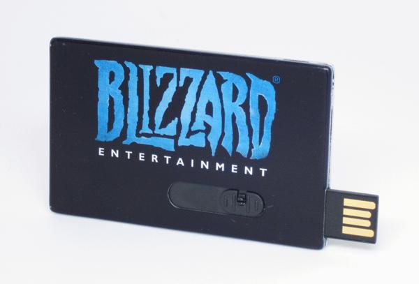 USB Metal Flash Drive Card Black Open